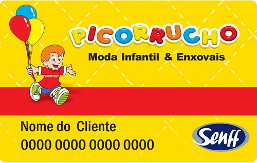 Cartão Picorrucho - Peça o Seu!